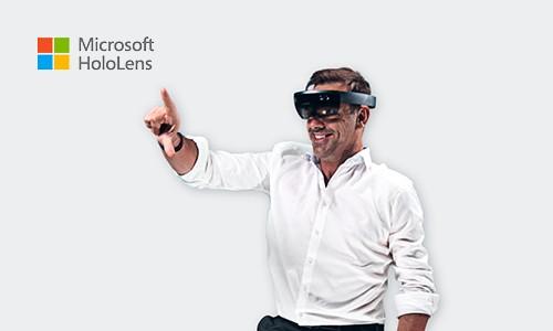 Microsoft HoloLens-Demo: Erleben Sie die HoloLens selbst hautnah